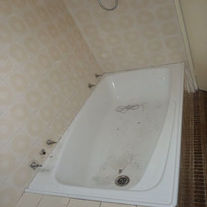 Before - Original Old Bathtub