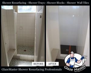 GlazeMaster Shower Resurfacing