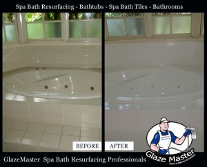 GlazeMaster Spa Bath Resurfacing