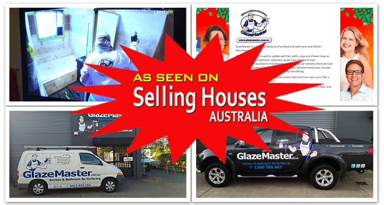 As Seen on Selling Houses Australia - Glazemaster Australia Kitchen Bathroom and Resurfacing