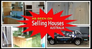 As Seen on Selling Houses Australia - Glazemaster Kitchen Resurfacing
