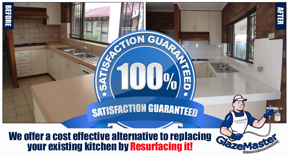 About GlazeMaster Kitchen and Bathroom Resurfacing