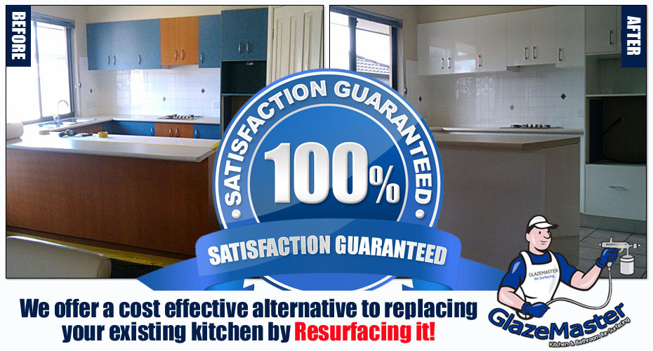 Gold Coast Kitchen Resurfacing by GlazeMaster