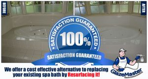 Spa Bath Resurfacing
